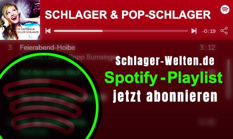 Schlager & Pop Playlist auf Spotify